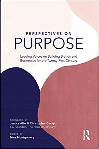 Book Cover of Perspectives on Purpose by Nina Montgomery and featuring Jorge Aguilar