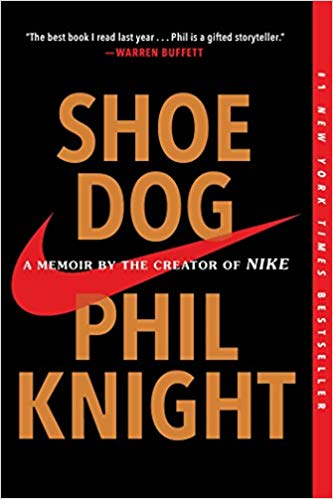 Cover of Book Shoe Dog by Phil Knight