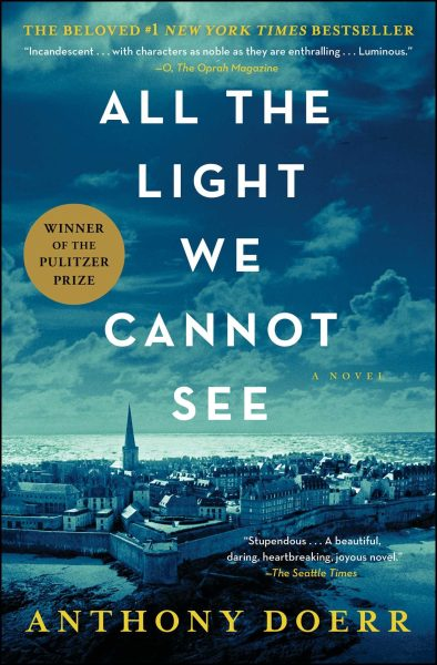 Book Cover of All the Light We Cannot See by Anthony Doerr