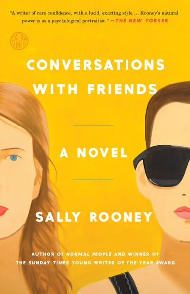 Book Cover of Conversations with Friends by Sally Rooney