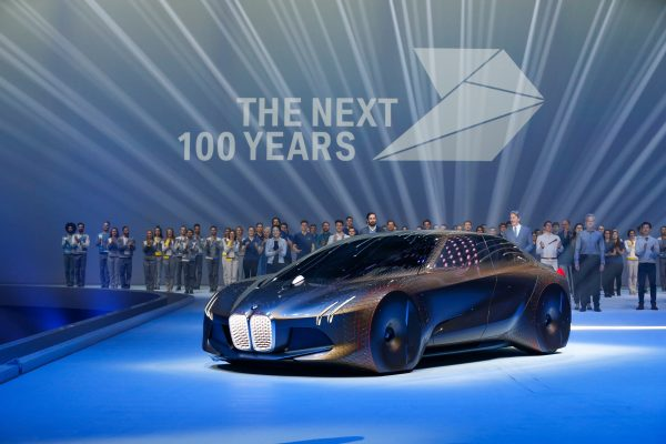 Car Showcased at BMW's 100 Year Event