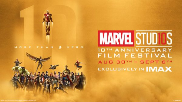 Marvel 10th Anniversary Poster