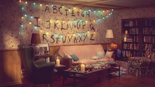Ikea's Version of Netflix's Stranger Things Living Room
