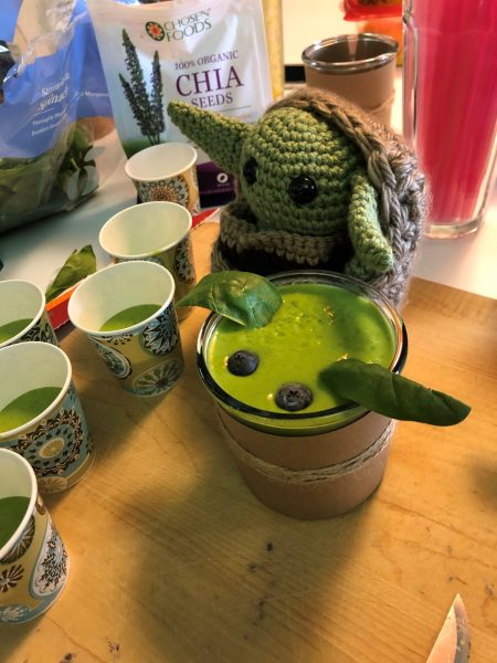 Baby Yoda Inspired Green Smoothie