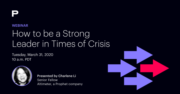 Link to How to be a Strong Leader in Times of Crisis Webinar